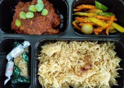 Nasi Minyak Bento Set